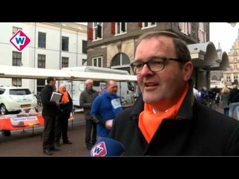 Verkiezingsmarkt Gouda laatste grote kans voor politieke partijen