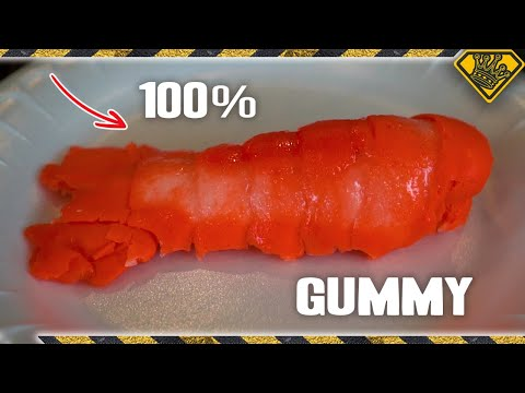100% Edible Gummy Lobster Tail