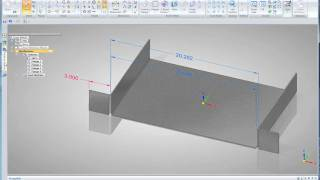 Solid Edge ST4 - Sheet Metal Design - Part 1