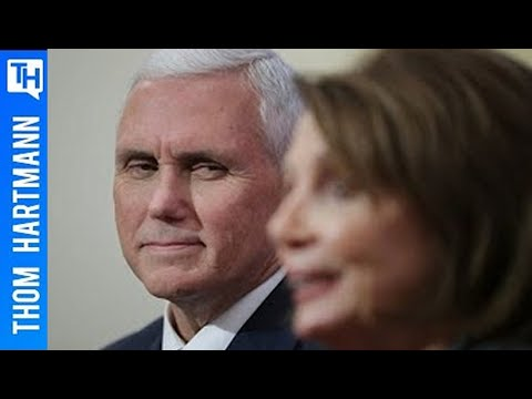 How Nancy Pelosi Could Become our Next President by Impeaching Mike Pence and Donald Trump
