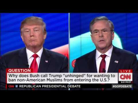 Jeb: Trump Is A Chaos Candidate, Would Be A Chaos President | Jeb Bush
