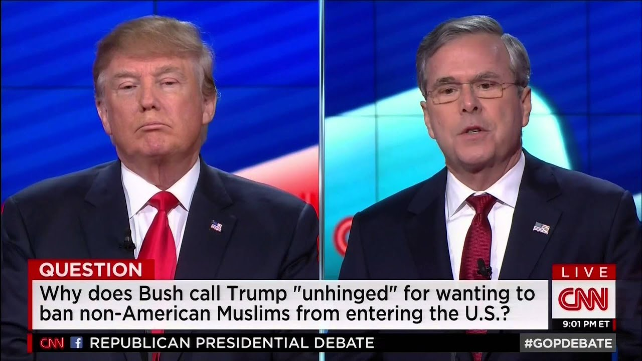Jeb Bush Quotes Jeb Trump Is A Chaos Candidate Would Be A Chaos President  Jeb