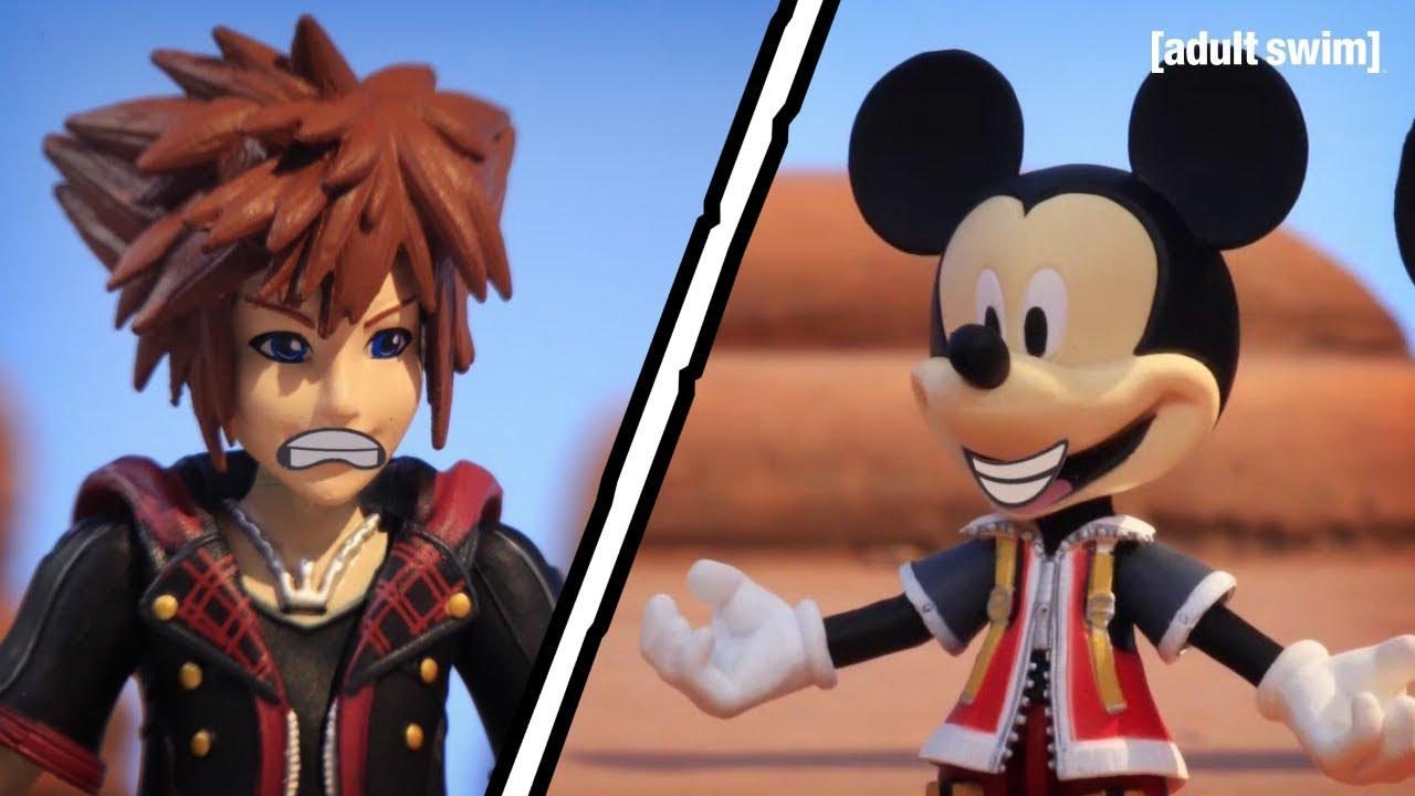 A Kingdom Hearts Key Party | Robot Chicken | adult swim