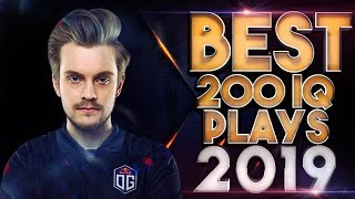 BEST 200 IQ Plays & Outplays of 2019 - Dota 2