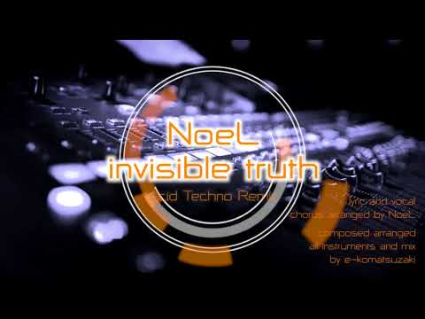 invisible truth feat NoeL(Original Pop Song Acid Techno Remix)