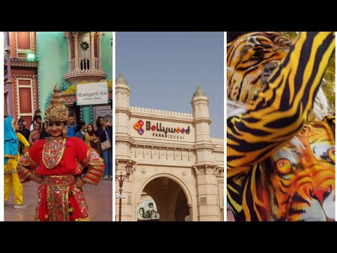 Live dance show at Bollywood Parks/Dubai Parks and Resorts.