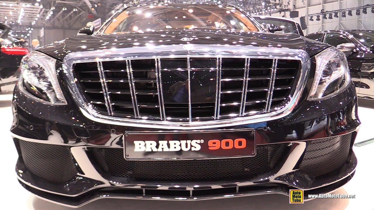 2016 Mercedes Maybach S600 Brabus Rocket 900   Exterior Interior Walkaround   2016 Geneva Motor Show