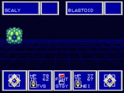Phantasy Star II - Infinite Blastoid Grinding