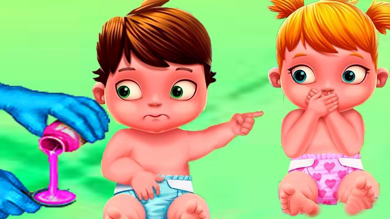 Sevimli Bebekler Yaramaz İkili #Çizgifilm Tadında Yeni Oyun