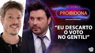 Fabio Porchat votaria em Danilo Gentili para Presidente?