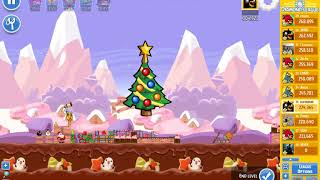 Angry Birds Friends/ SantaCoal i CandyClaus tournament, week 292/2, level 3