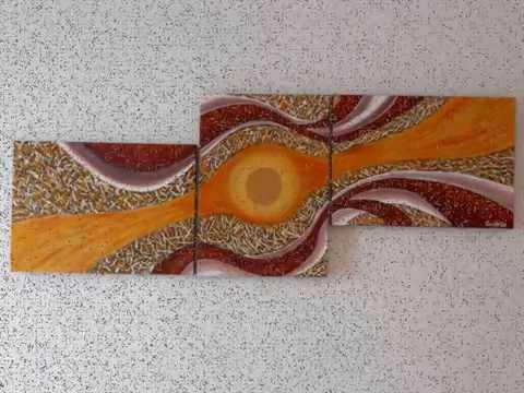 CREAZIONI 2010 (dipinti astratti moderni realizzati in acrilico e ...