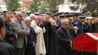 Son İstiklal Gazisi Yakup Satar'ın Cenaze Töreni