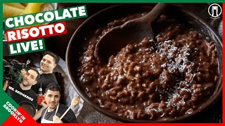 Cookin' Chocolate Risotto Live