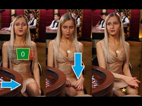 Live Casino Dealer Problem With SHORT DRESS! Oops