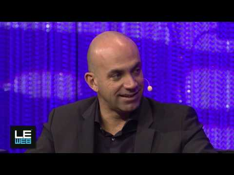 Travis Kalanick, Uber and Loic Le Meur, Co-Founder, LeWeb