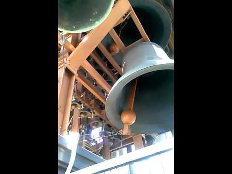 Berkeley campus Clocktower bells