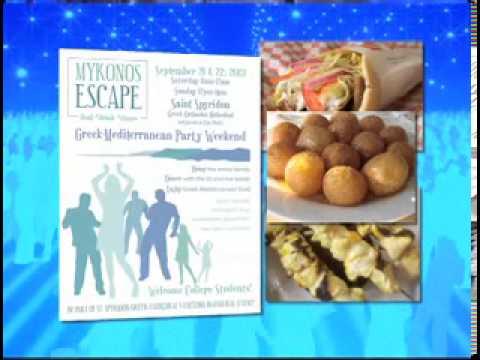 Mykonos Escape--Greek-Mediterranean Party Weekend
