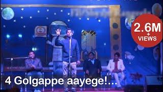 shyam rangeela modi mimicry and rahul gandhi mimicry in panache 8 at vit campus jaipur