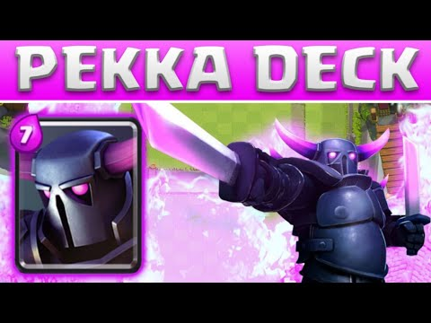 P e k k a tunnelgr ber deck clash royale deutsch youtube for Deck pekka arene 6