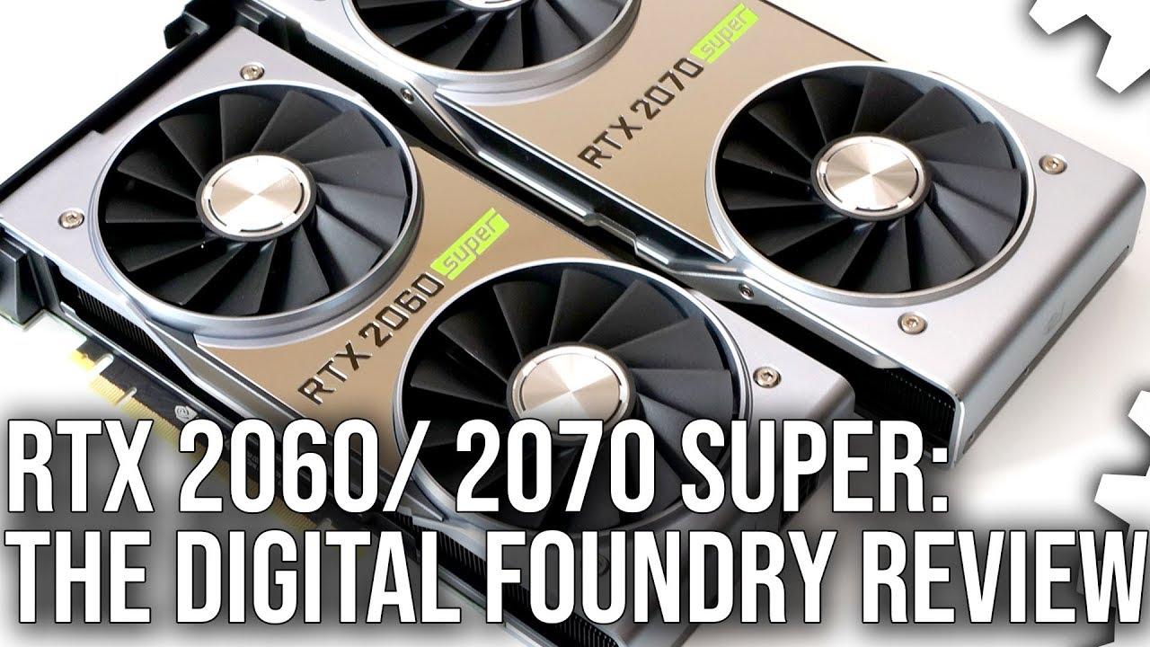 Nvidia RTX 2060 Super/ RTX 2070 Super Review! Bringing The Battle To Navi!