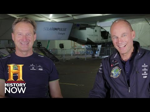 Solar Impulse is Flying Around the World Without Fuel (Part 1) | History NOW