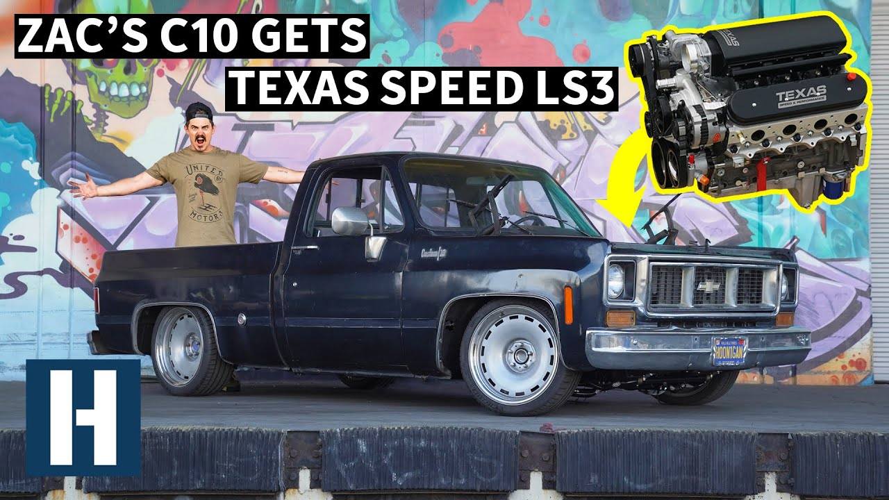 669hp And A Bench Seat?: Zac's C10 Gets Sketchy Fast! - Hoonigan