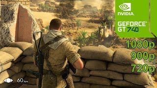 Sniper Elite 3 GamePlay [PC] in Nvidia Geforce GT 740 - No Commentary part 1