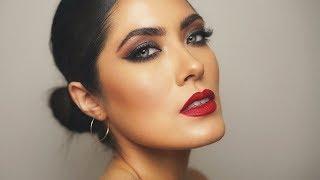 ALL Drugstore Holiday Makeup | Gigi Hadid x Maybelline | Melissa Alatorre