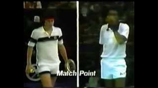 Arthur Ashe vs McEnroe Final - Grand Prix Masters 1978