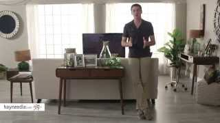 Belham Living Carter Mid Century Modern Console Table - Product Review Video