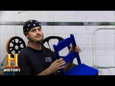 Counting Cars: Betting on a Chair | History