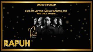 Padi Reborn Feat. Ariel Noah - Rapuh | Kick Off Meeting Emerio Indonesia 2019 | New Spirit, No Limit