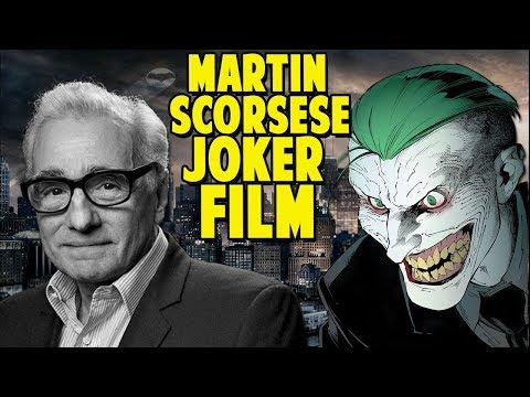 Martin Scorsese Non DCEU Joker Film in the Works