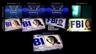 X-Files Intro Comparison
