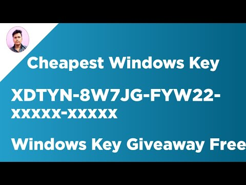 Cheapest Windows Key And Windows Key Free Giveaways