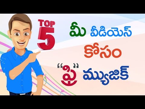 Top 5  Royalty free music sites for Youtubers | In Telugu By Sai Krishna
