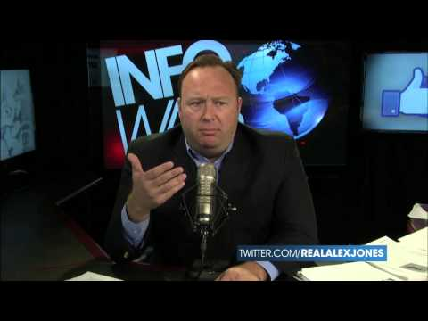 Alex Jones explains Hollywood connections in the Infowar