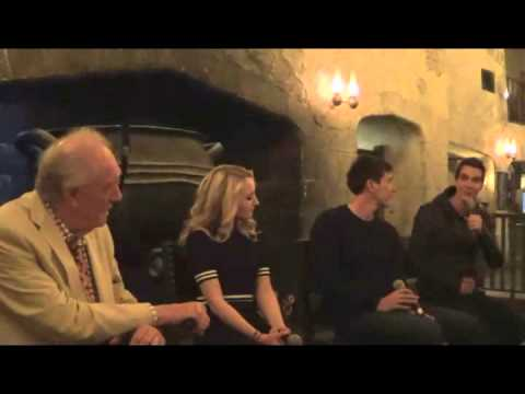 Group media Q&A with Harry Potter film talent at A Celebration of Harry Potter Jan 30, 2015