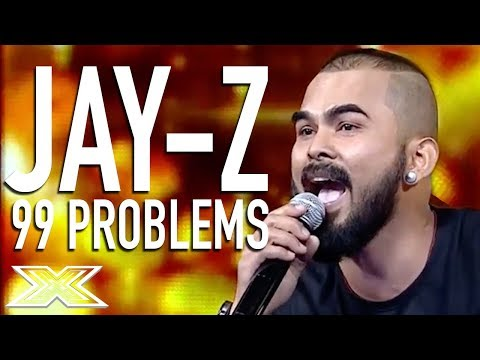 Jay-Z's '99 Problems' Cover Has The Audience Going WILD! | X Factor Global