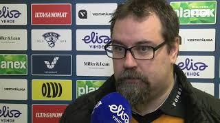 14.12. TUTO - IPK ottelun jälkeiset haastattelut
