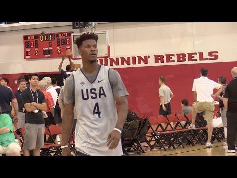 Jimmy Butler USA Training Las Vegas Full Highlights | Team USA at UNLV July 2016