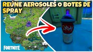 Botes De Spray Fortnite Parque Reune Aerosoles En Almacenes De Muelles Mugrientos O Garajes De Parque Placentero Reune Botes Youtube
