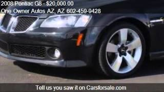 2008 Pontiac G8 4dr Sdn GT - for sale in Peoria, AZ 85382