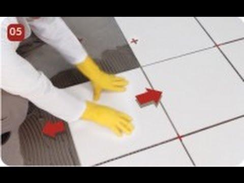 Como fazer argamassa como colocar porcelanato como for Como colocar azulejo