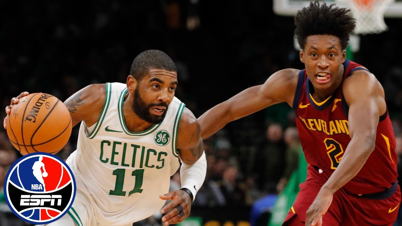 Kyrie Irving leads Celtics past Cavs with 29 points | NBA Highlights