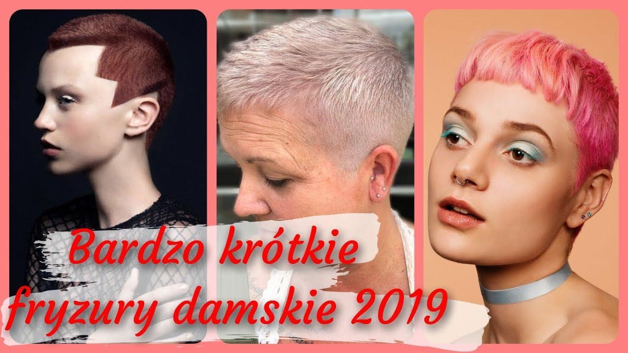 Top 20 Najlepszy Bardzo Krótkie Fryzury Damskie 2019