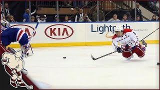 NHL: Bar Down Goals