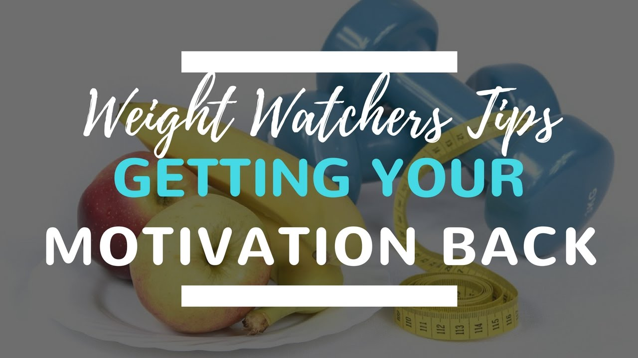 weight watchers motivation tips how to get back on track in the new