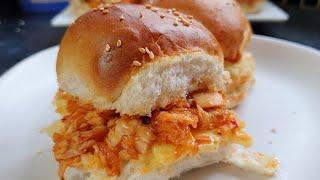 Chicken Sliders Recipe  Mini Burger  CheeseBurger Slider Recipe  Food Ocean